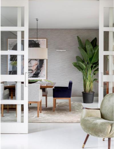 Interiores decoración comedor
